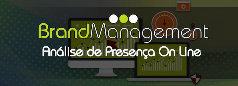 Análise de Presença On-Line - Pareceiro Brand Management Brasil